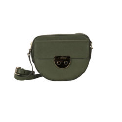 Sac FLORE olive face