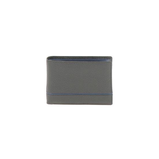 Portefeuille 71023 noir bleu vue de face