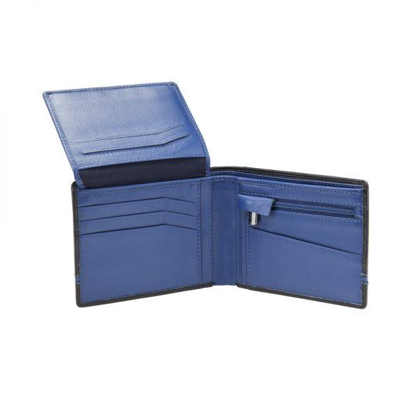 Portefeuille 71023 noir bleu