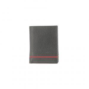 Portefeuille 7250 noir rouge de face vue de face