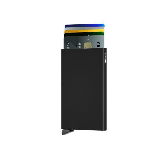 Porte cartes SECRID aluminium BLACK