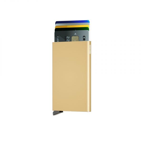 Porte cartes SECRID aluminium OR