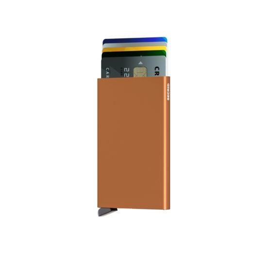 Porte cartes SECRID aluminium ROUILLE