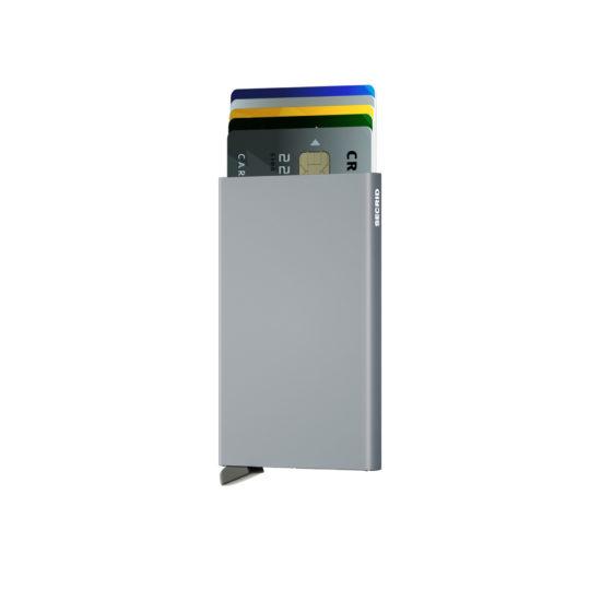 Porte cartes SECRID aluminium Titanium