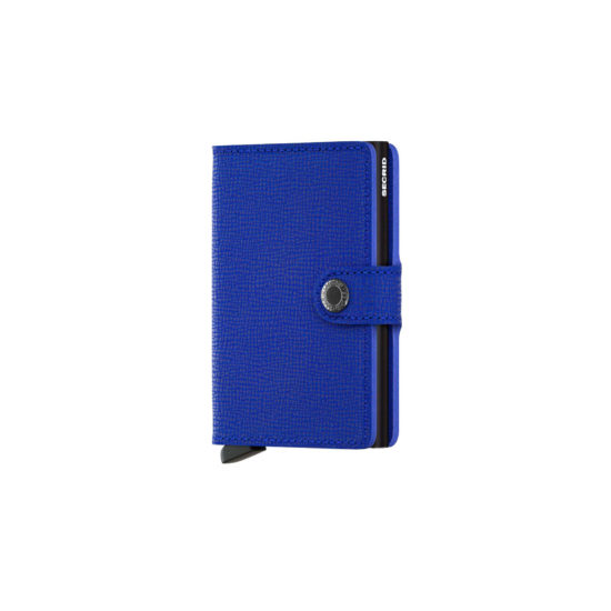 Portefeuille compact Bleu