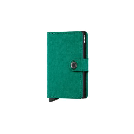 Portefeuille compact Vert