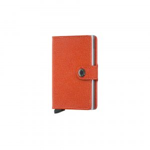 Portefeuille compact Orange