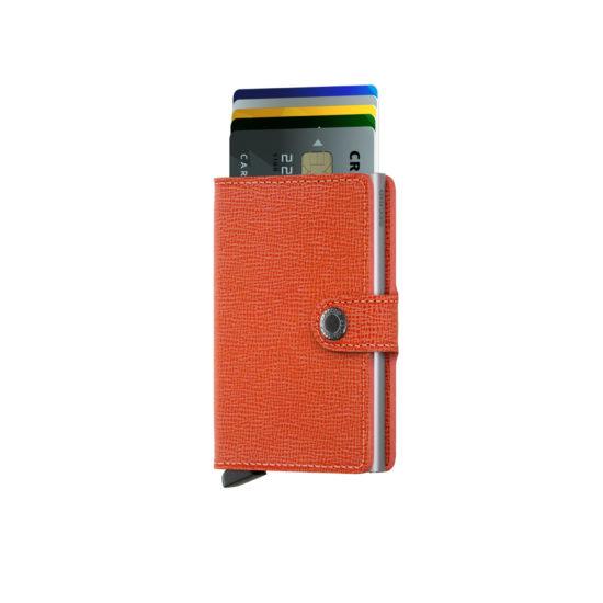 Portefeuille compact Orange