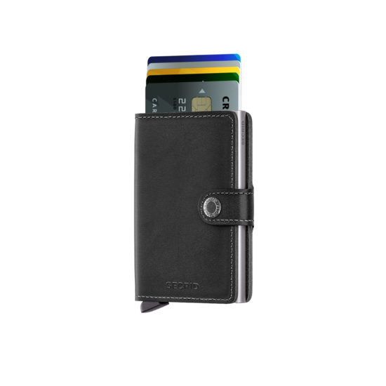 Portefeuille compact original noir