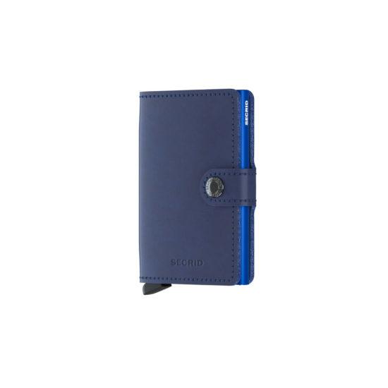 Portefeuille compact original bleu navy