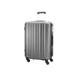 Valise moyenne, Polycarbonate, revêtement anti rayures, 63L, 3.7kg