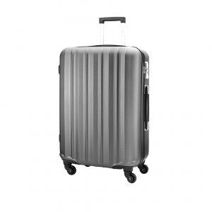 Grande valise en polycarbonate, revêtement antirayures.101L, 4.6kg