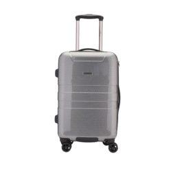 Grande Valise noir/gris ABS et polycarbonate 85L, 4.25kg