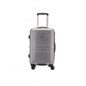 Valise cabine Noir/gris Polycarbonate ABS 32L, 2,6kg