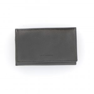 Portefeuille 205 noir vue de face