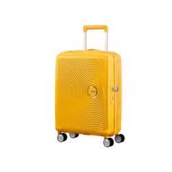 Valise 4 roues taille M 88473 jaune
