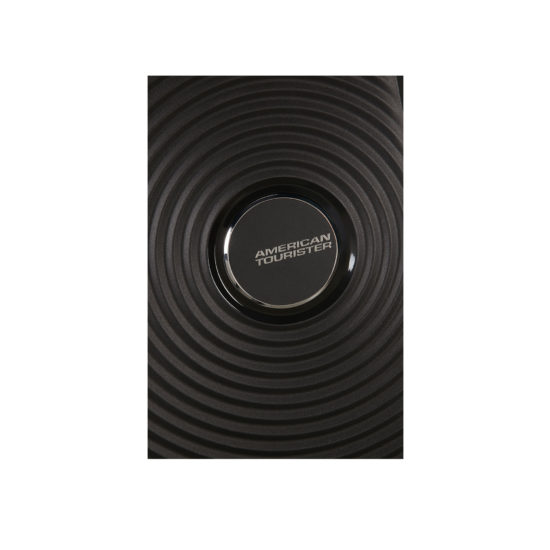 Valise 4 roues taille M 88473 noir logo