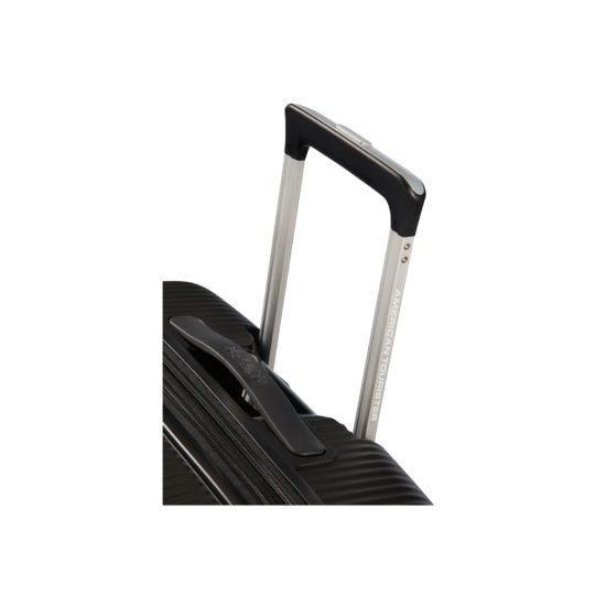 Valise 4 roues taille M 88473 noir poignée