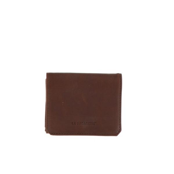 Porte monnaie boite 9148 cognac vue de face
