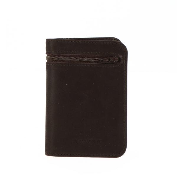 Portefeuille 9234 zip noir exterieur face